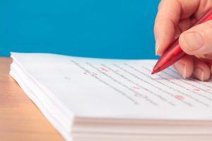 Student Editing Dissertation